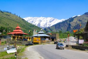 The road from Manali to Rohtang, Pass the valley of Spiti and Leh, Himachal Pradesh