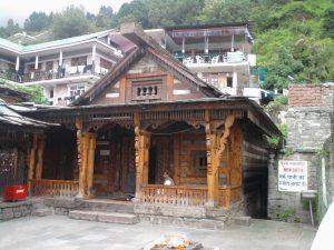 Vashisht Temple, in Vashisht, Manali.