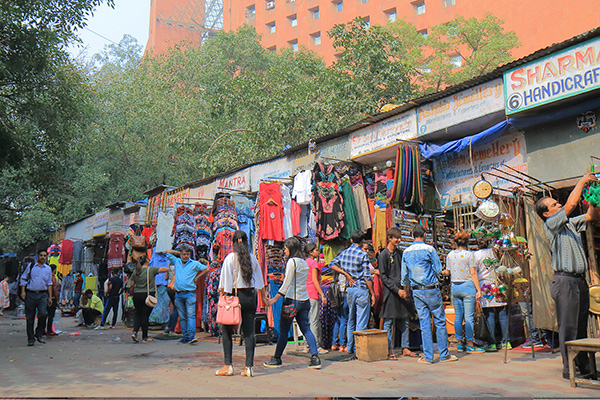 Best markets in India, Janpath Market-Delhi