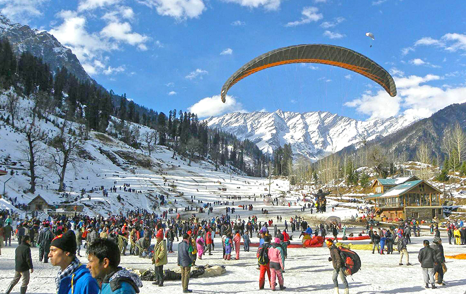 New Year Celebration in Manali