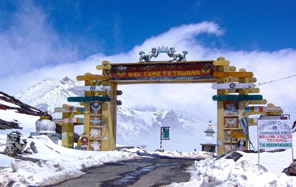 Tawang, Arunachal Pradesh offbeat snowfall destination in India