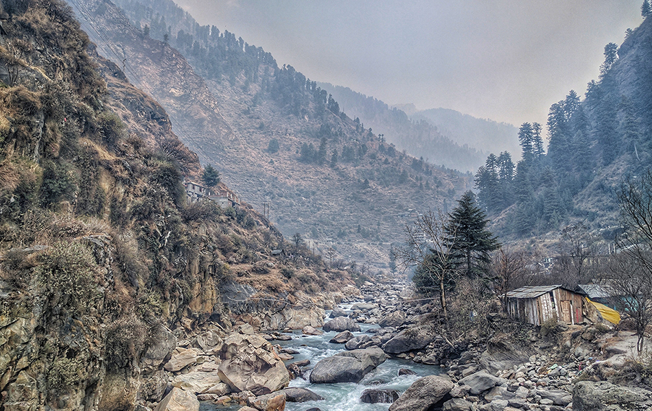 offbeat snowfall destination in India Manali, Himachal Pradesh