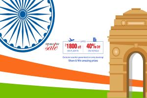 India Republic day sale 2019