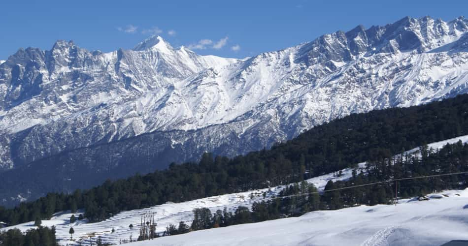 Auli Hill station near Delhi India