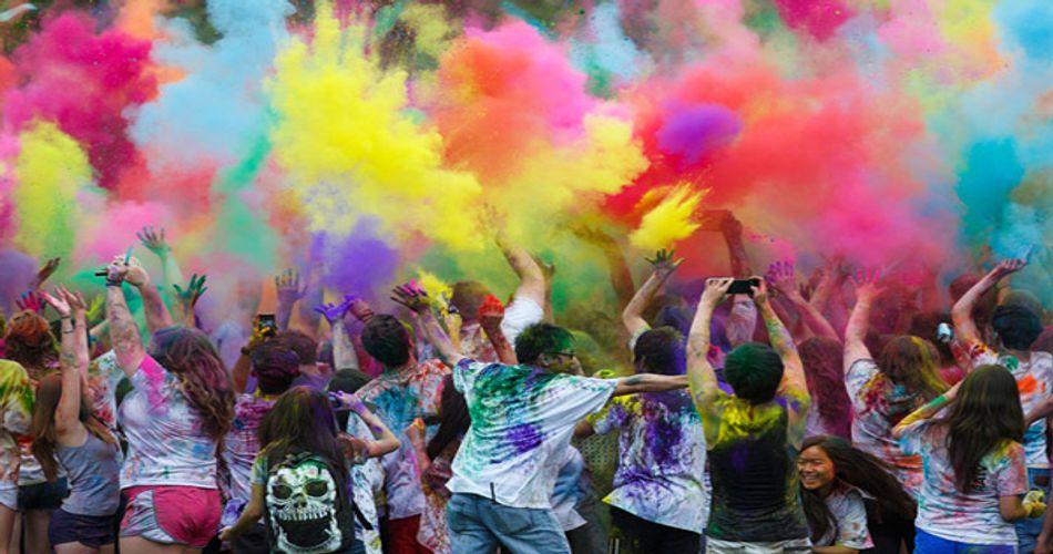 Holi Celebrations in Delhi