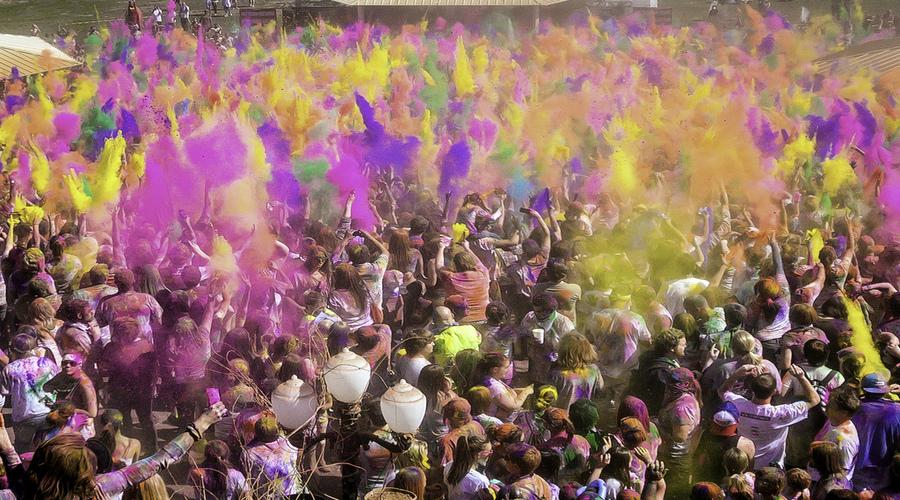 Punjab Holi Celebrations