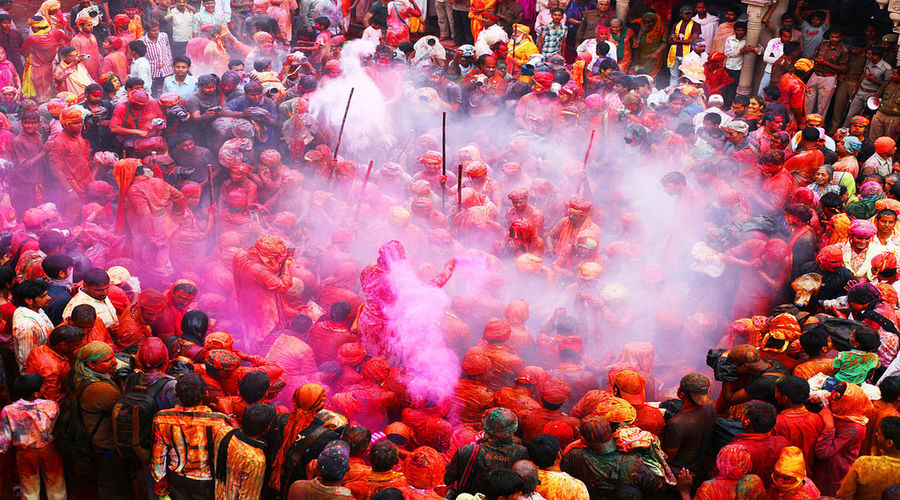 Barsana holi Celebration