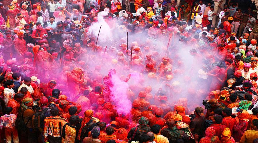 Barsana Holi Celebrations