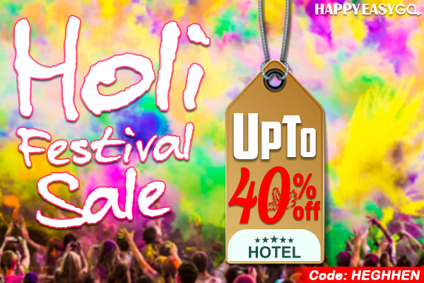 Holi Hotel Rooms Booking Coupon
