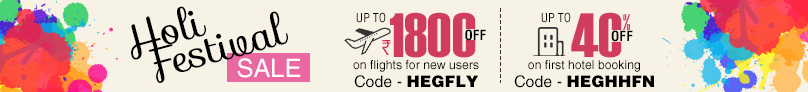 holi festival offers sale online flight & hotel booking happyeasygo
