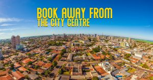 Book away from the city centre