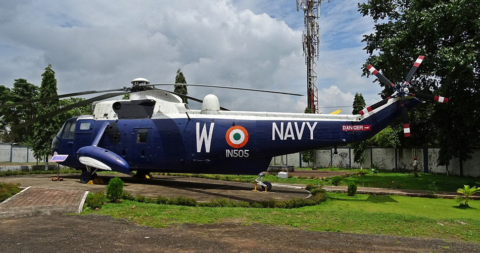 Naval-Aviation-Museum,-Goa