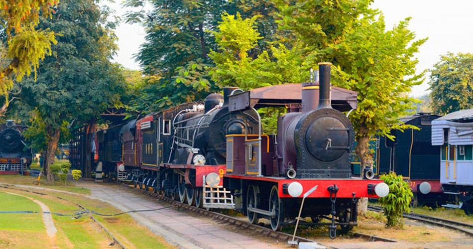 Rail Museum in Delhi