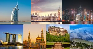 International Holiday destination