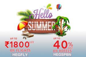 summer sale on flight booking
