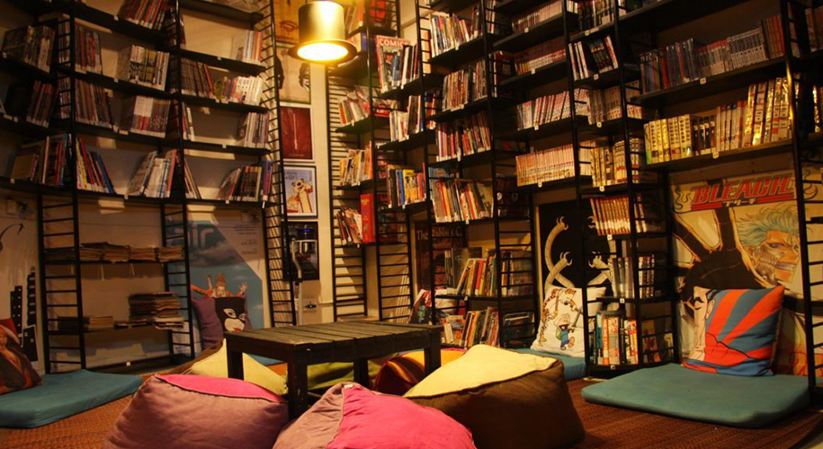 Book Cafes