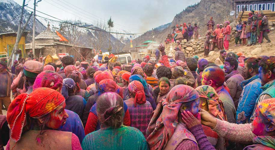 Holi-in-Himachal