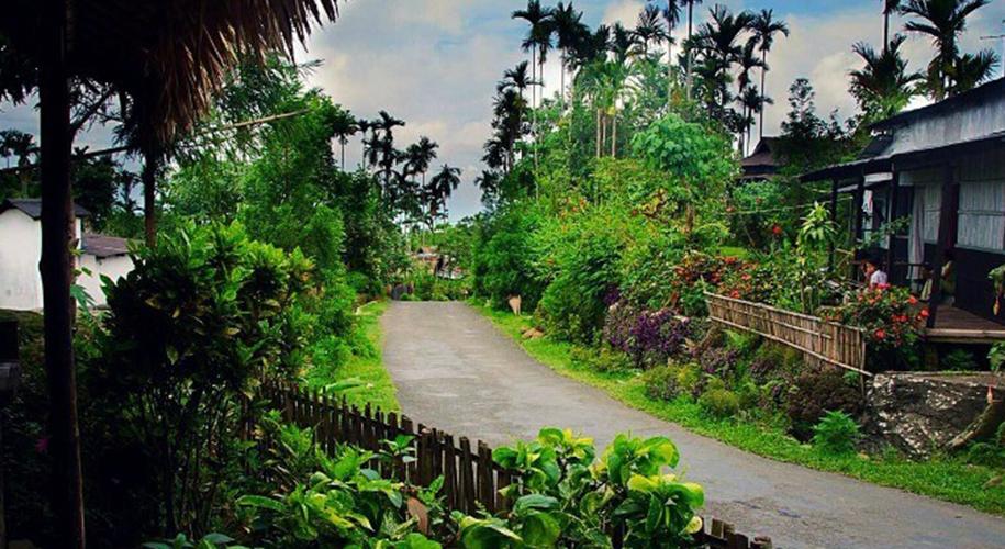 Mawlynnong-Village,-Meghalaya