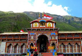 Badrinath Temple opened without devotees, first puja on behalf of PM Modi