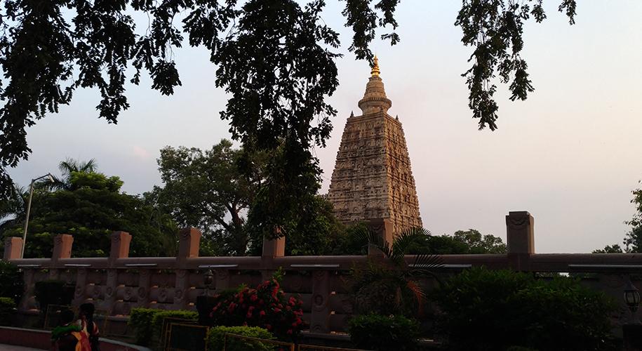 Mahabodhi-Temple,-Bodh-Gaya