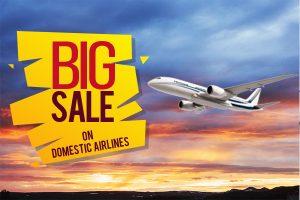 big sale on air tickets