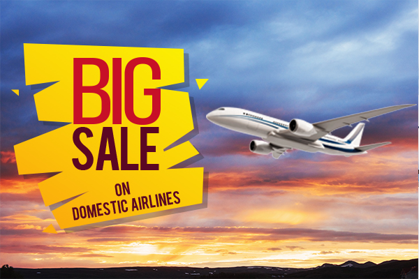 big sale on air tickets