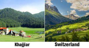 Khajjar and Switzerland