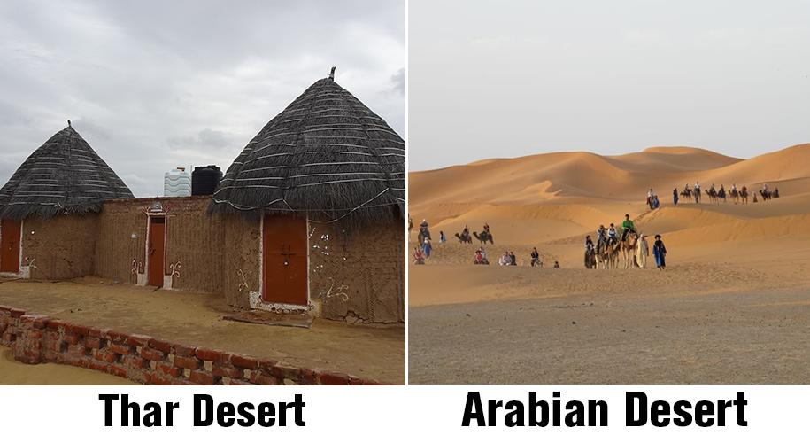 Thar-and-Arabian-Desert