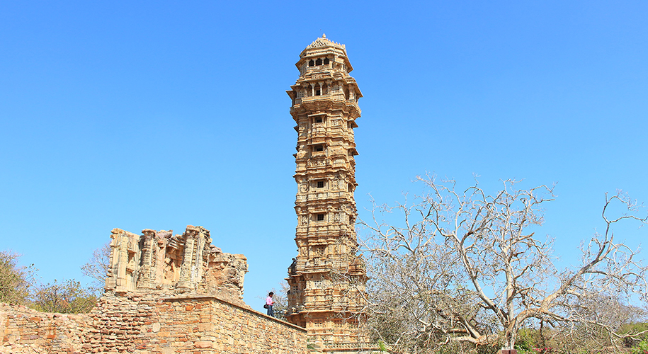 tower of victory in rajasthan