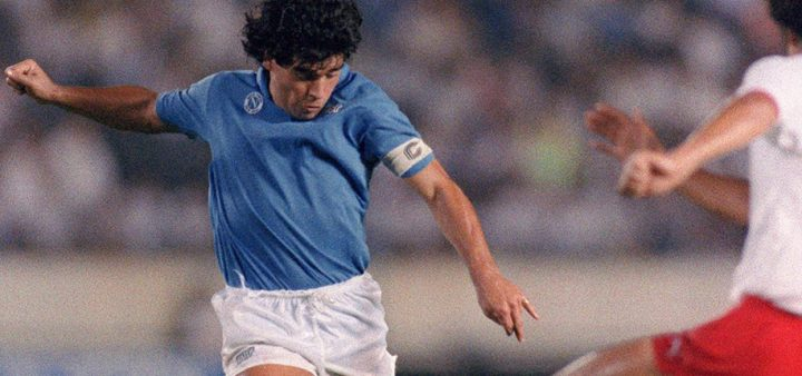 Remembering the Legend: Top 5 Goals by Diego Maradona