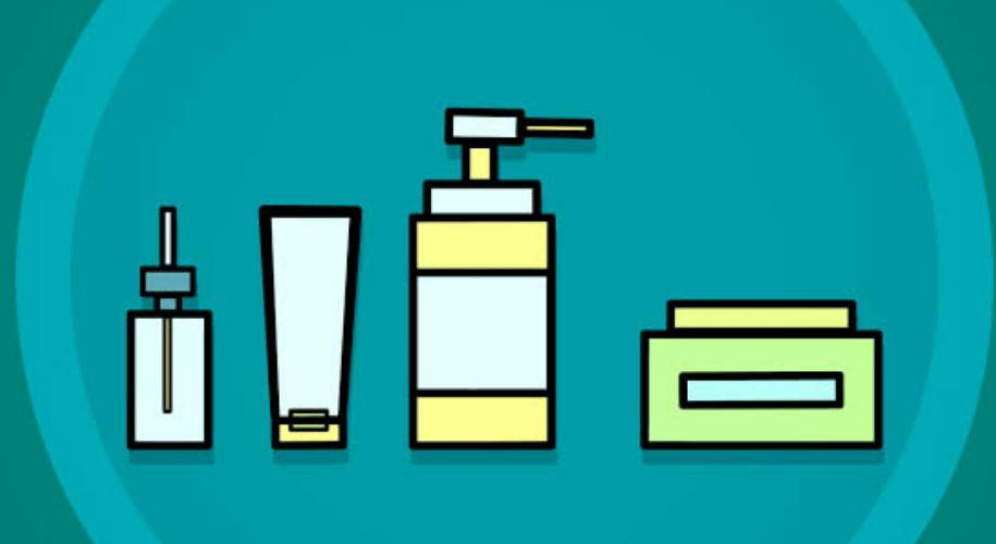 Keep moisturiser and SPF handy