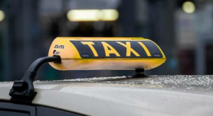 Take a cab to the airport
