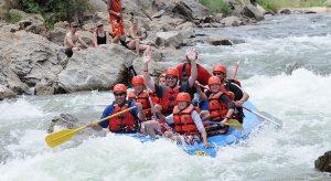 Rafting in Bheemeshwari