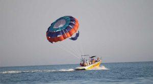 Water Sports at Baga Beach