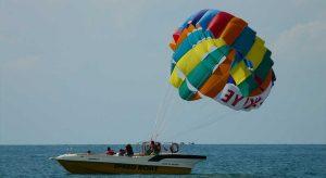 Paraglide at Anjuna